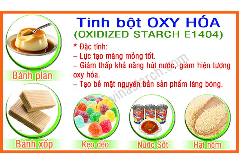 Tinh bột OXY HÓA (OXIDIZED STARCH E1404)